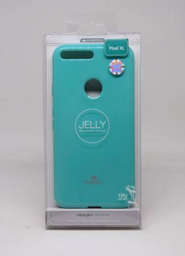 funda google pixel xl mercury goospery jelly case menta