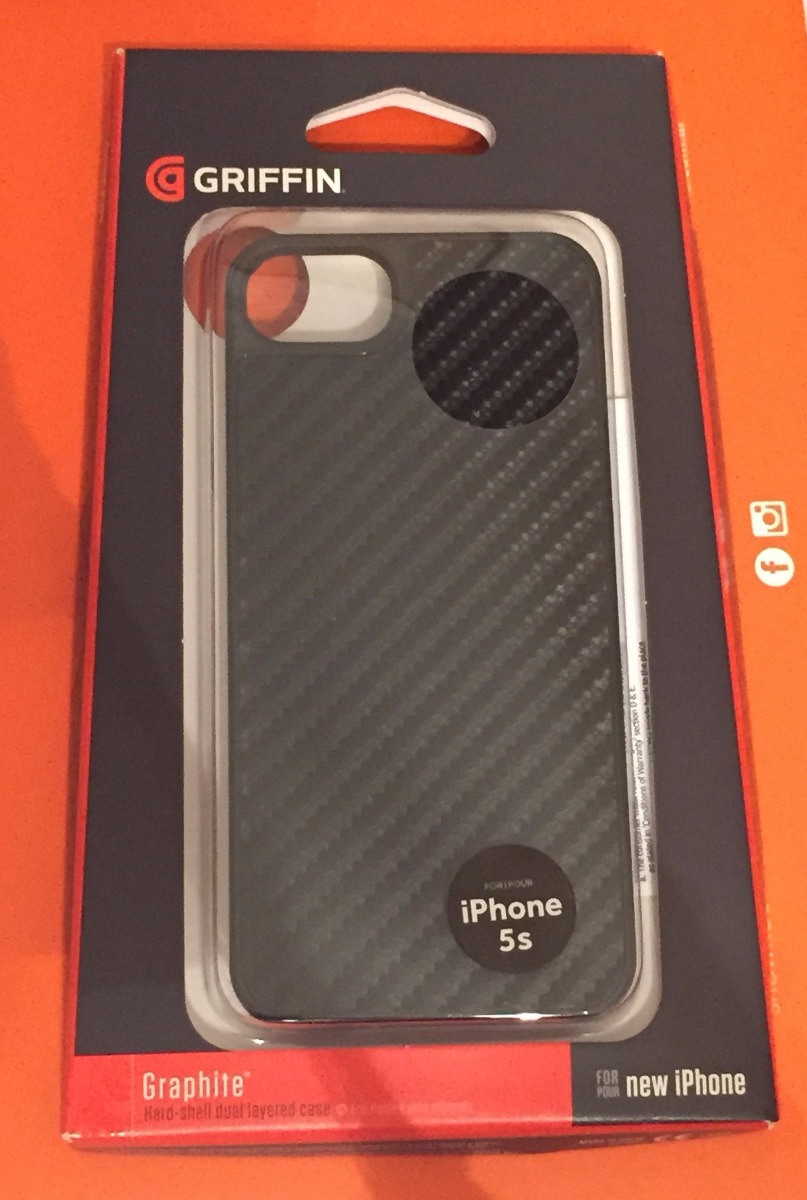 ba30679b56a Funda Griffin iPhone 5 / 5s Fibra Carbono Negra - $ 400,00 en ...