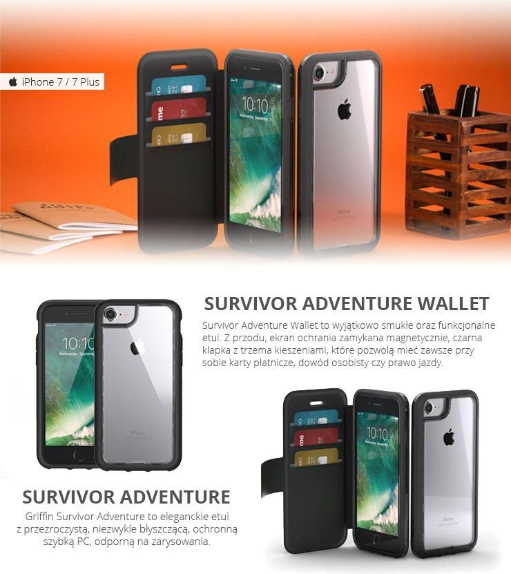 the best attitude 57496 fb1d0 Funda Griffin Original Survivor Adventure iPhone 7 8 Plus