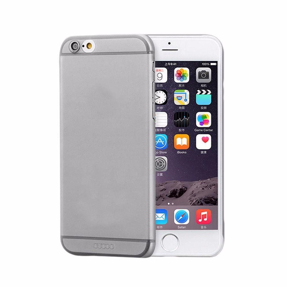 68175874d00 Funda Gris Matte Transparente Para iPhone 6 6s De 4.7 - $ 20.00 en ...