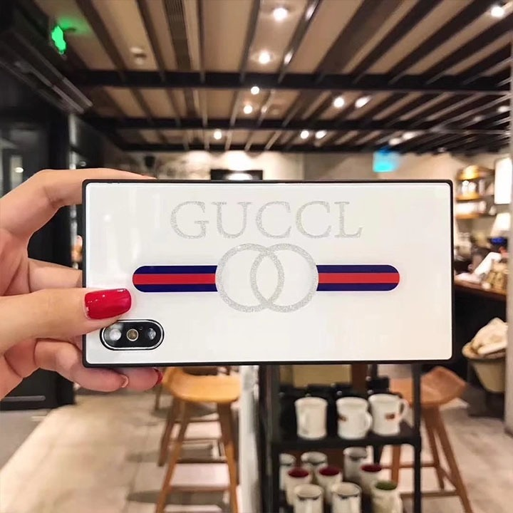 b28c61afeeb Funda Gucci Cuadro Guccl Cristal iPhone 7 8 Plus X Xr Xs Max ...