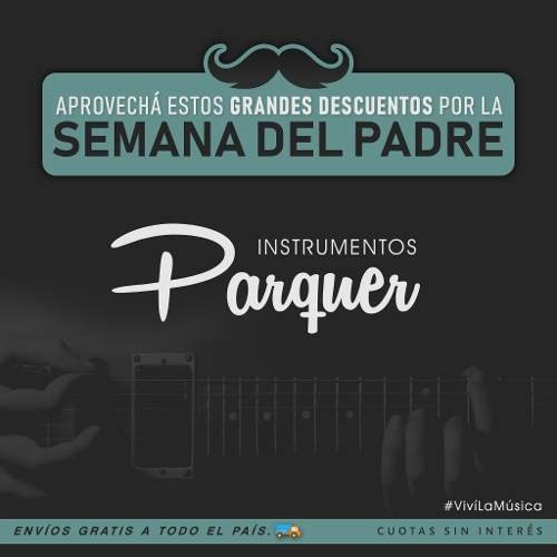 funda guitarra criolla parquer evolution acolchada cuota