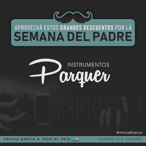 funda guitarra criolla parquer evolution acolchada reforzada