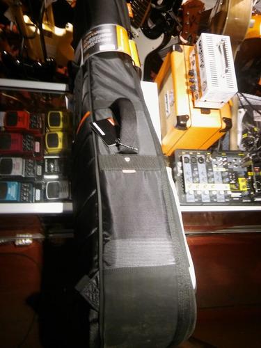 funda guitarra criolla super acolchada mono classic m80 cp