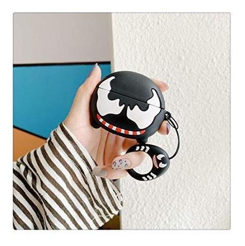 funda happyfang para airpods pro, lindo animal de dibujos an