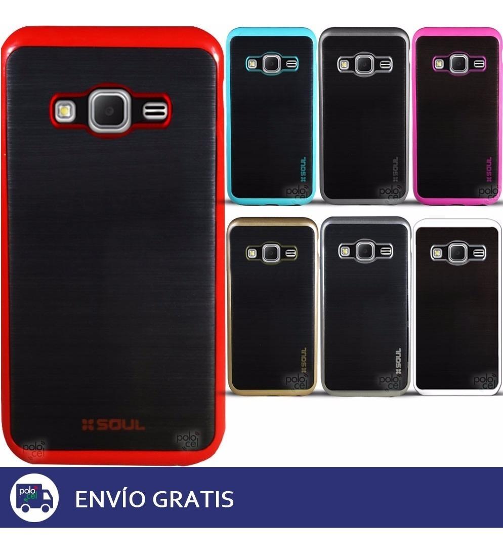 bdc82ede693 Funda Hard Border Color Samsung J2 J5 J7 + V. Templado - $ 499,90 ...