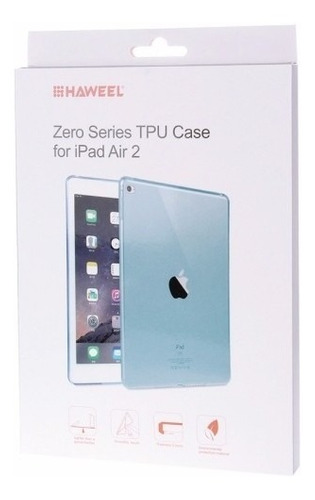 funda haweel ipad air 2 tpu traslucida flexible envío gratis