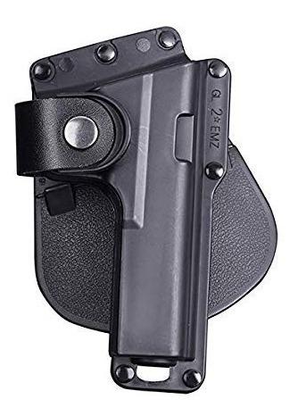 funda holster glock g25 17 19 23 etc para lampara ó laser