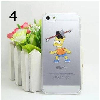 funda homero simpson iphone 5 5s se 6 6s 7 8 plus  x