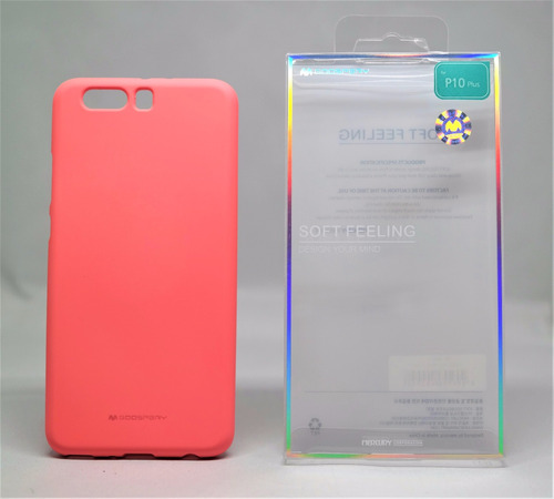 funda huawei p10 plus  mercury goospery soft feeling rosa