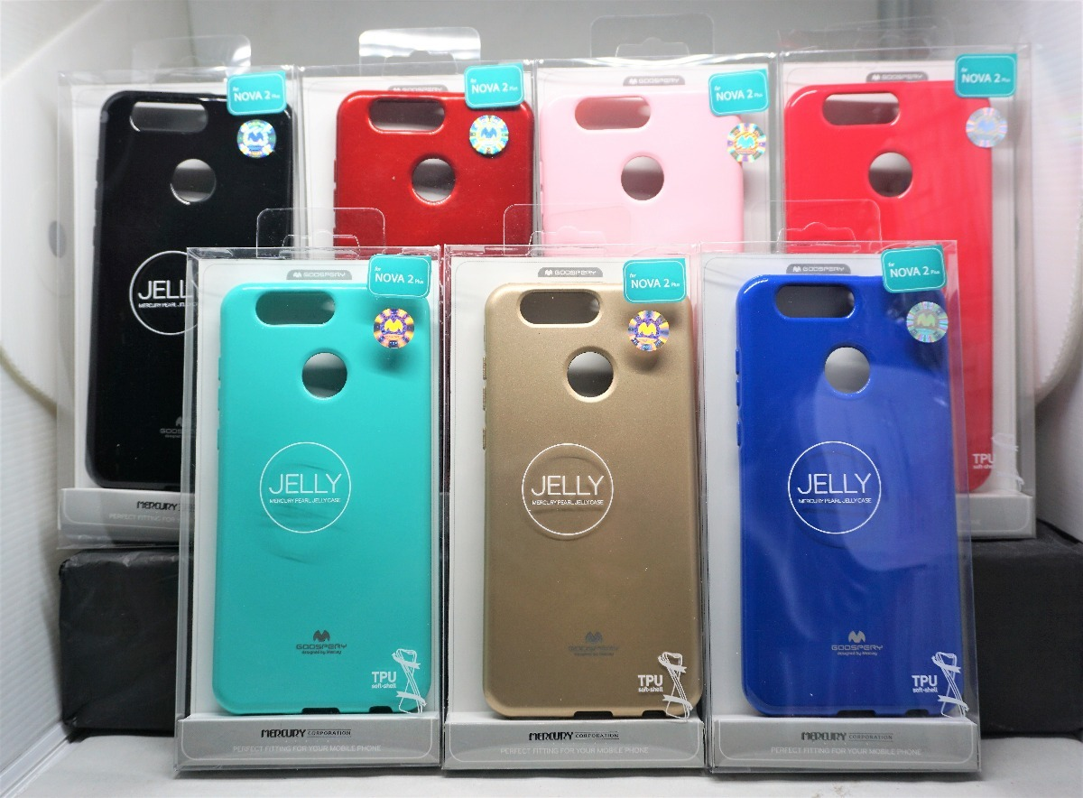 Funda Huawei P10 Selfie Nova 2 Mercury Goospery Jelly