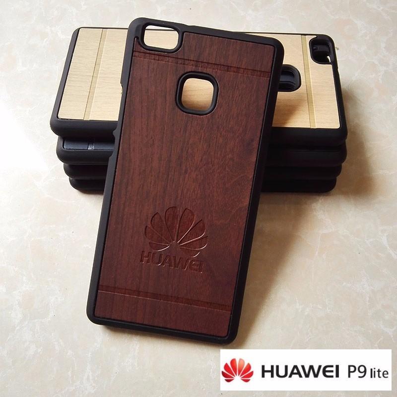 carcasa huawei p9 madera