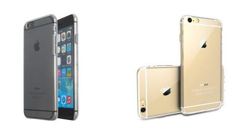 funda i phone 6,6s super flexible ultradelgada transparente