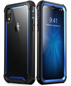 Funda iPhone 11 I-blason Ares 360 Rudo Original Mica - Azul