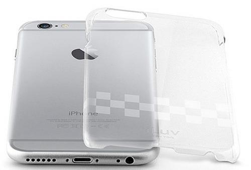 7c1e7d8910b Funda Iluv Gossamer Transparente Para iPhone 6 6s + Vidrio - $ 250 ...
