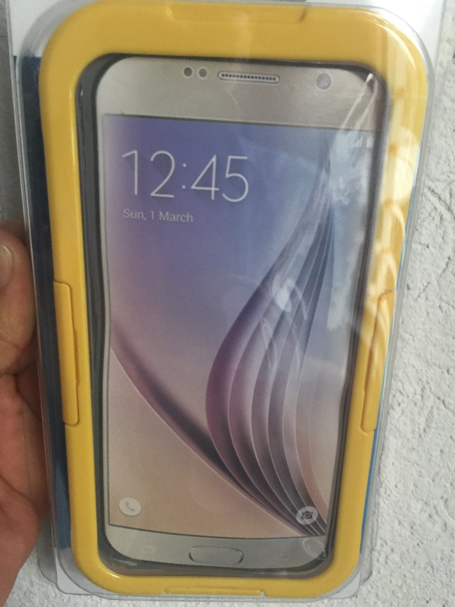 8f7a2bd183b Funda Impermeable A Prueba De Agua Galaxy S6 Y S6 Edge - $ 449.00 en ...