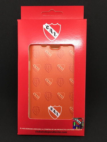 funda independiente rojo cai huawei p9