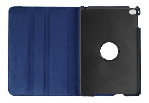 funda ipad (2018) 6ta gen.  giratoria 360° simil cuero