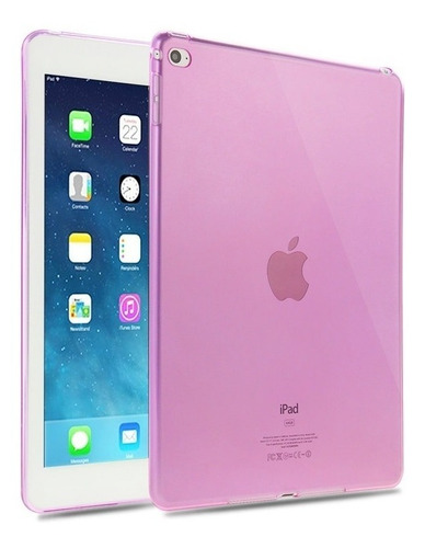 funda ipad air 2  tpu traslucida flexible, anti-golpe haweel