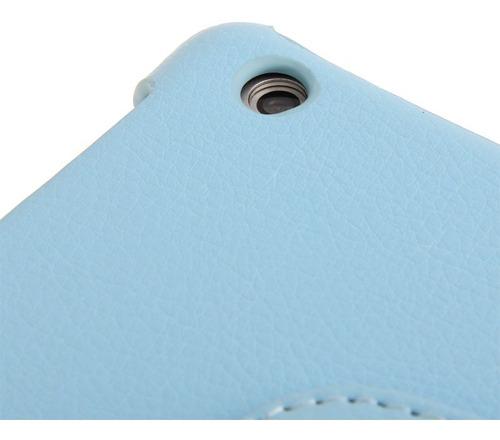 funda ipad air - air 2- new ipad giratoria 360° símil cuero