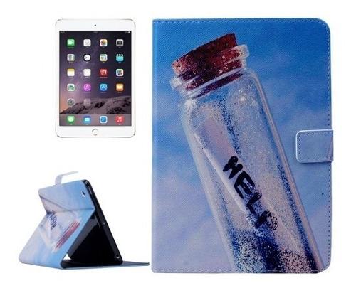 funda ipad mini  2 y 3 estampadas c/magnetico funcion sleep