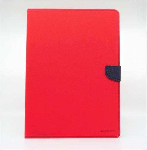 funda ipad pro 12.9(2017) goospery fancy diary agenda rojo