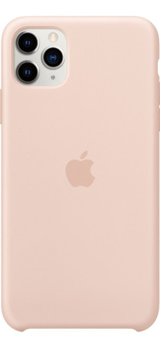 funda iphone 11 11 pro 11 pro max pink sand silicone case