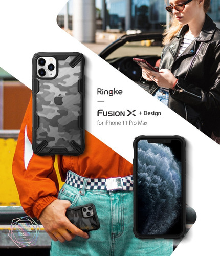 funda iphone 11 11 pro 11 pro max ringke fusion x design