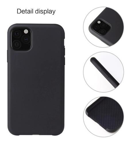 funda iphone 11 11pro 11pro max silicona liquida colores