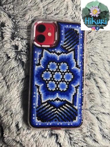 funda iphone 11 decorada con chaquira