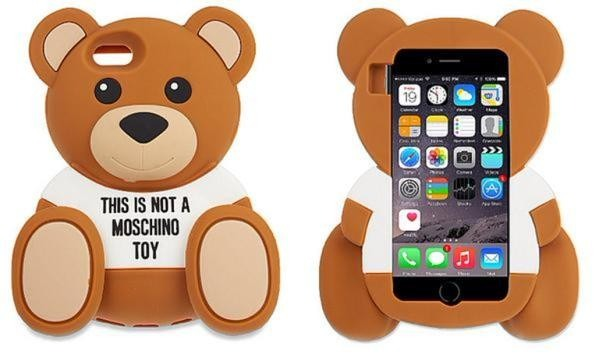 super popular c5799 ac2c3 Funda iPhone 4 4s Moschino Oso Toy Case