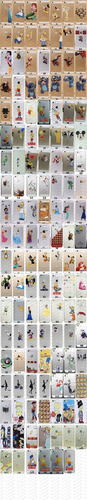funda iphone 4 5 6 plus simpson frozen blancanieves sirenita