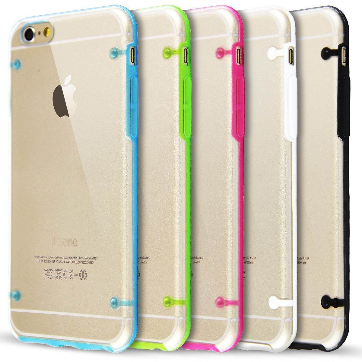 87550a41c14 Funda iPhone 4s 5 5s 6 6 Plus Ultrafina Transparente - $ 99,99 en ...