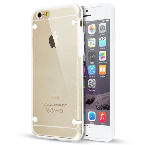 bd6c2462a98 Funda iPhone 4s 5 5s 6 6s Plus Ultrafina Transparente + Film - $ 139 ...