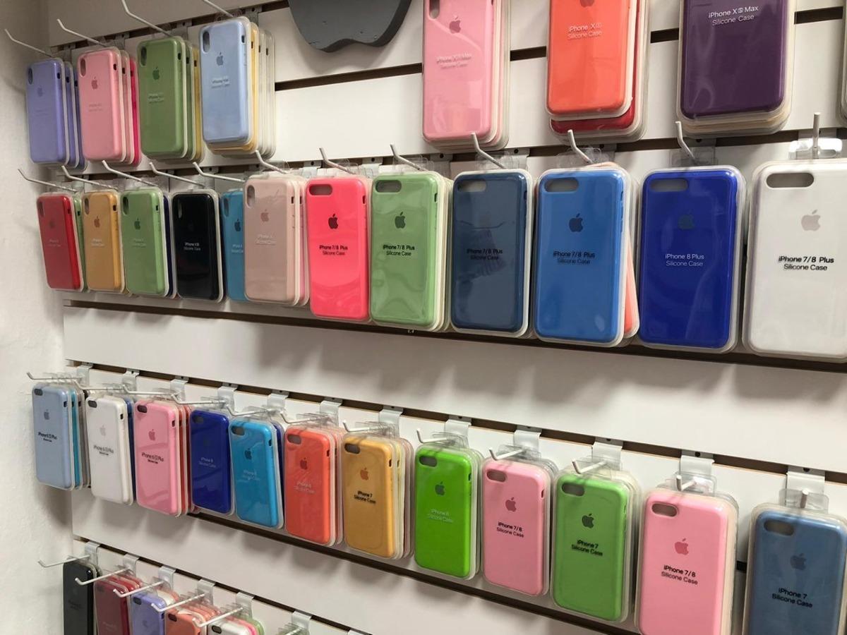 Funda iPhone 5 6 7 8 X Apple Original Silicona Templado 5d