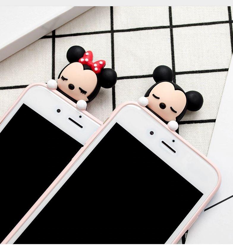 8 /8 7/7 6 /6S 6/6S Mickey Mouse Disney FUNDA LUJO Iphone 5/5S