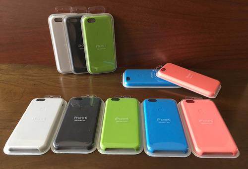 funda iphone 6 6 plus apple original case silicona soft