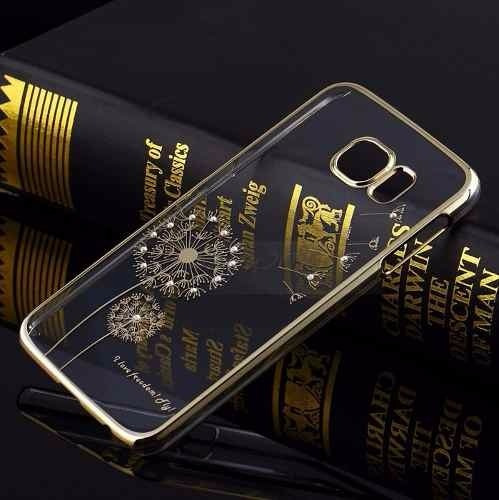funda iphone 6 6 plus fashion strass + vidrio templado glass