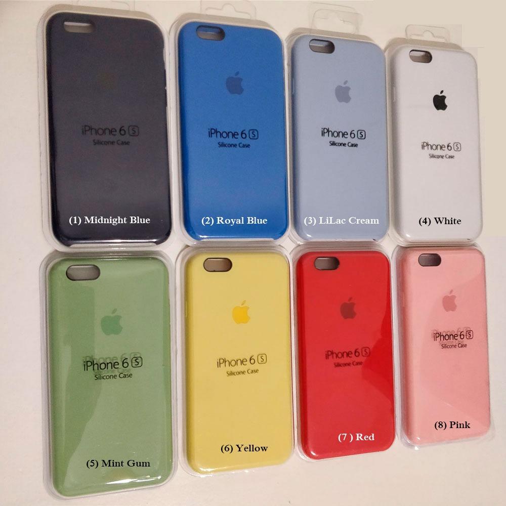 797515255a4 Funda iPhone 6 6s 6 Plus Silicone Case Blister Cerrado - $ 349,00 en ...