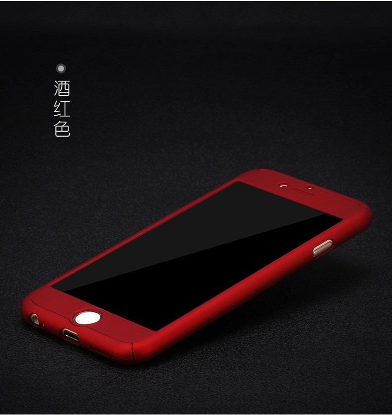 Funda Iphone 6 6s 7 360 Grados Cristal Templado Envio ...