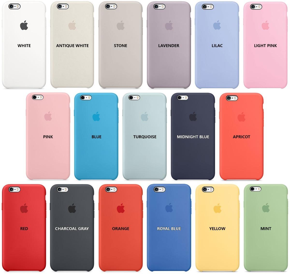 9d54f680172 Funda iPhone 6 6s Apple Original Silicona + Templado - $ 600,00 en ...