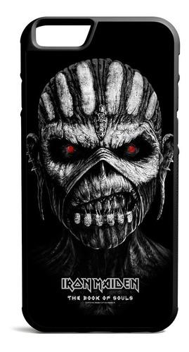 funda iphone 6 7 8 11 plus max - iron maiden book of souls