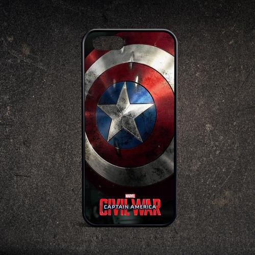 funda iphone 6 7 8 plus x - capitan america civil war