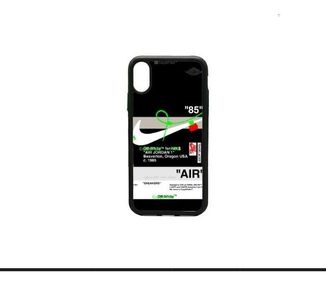 capa Autonomía Brillante  Funda iPhone 6 7 8 Plus X Xs Max Xr 11 Etiqueta Nike Verde - $ 195.00 en  Mercado Libre