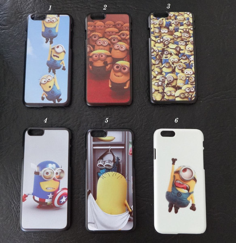 funda iphone 6 case de los minion microcentro o avellaneda