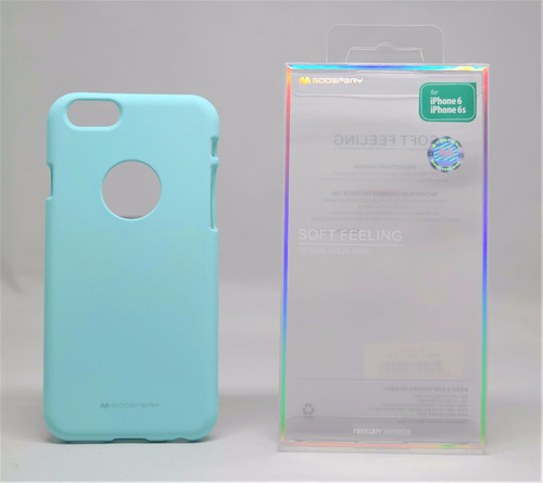 funda iphone 6 mercury goospery soft feeling menta