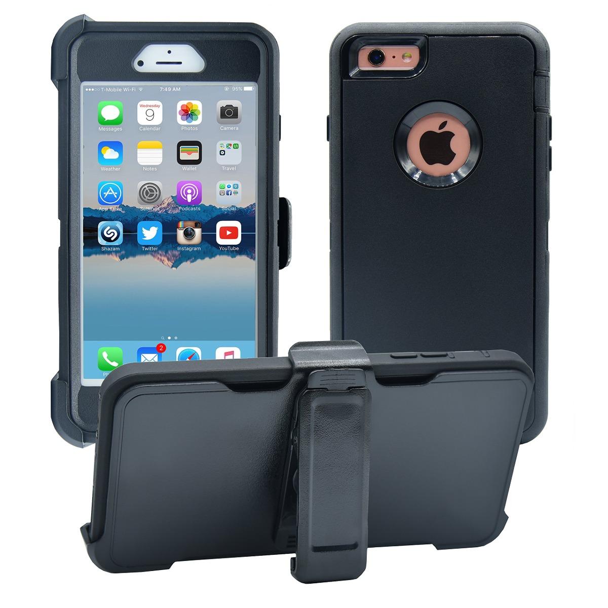 12797676d34 Funda iPhone 6 Plus / 6s Plus | Protector De Pantalla 3 E - S/ 183 ...