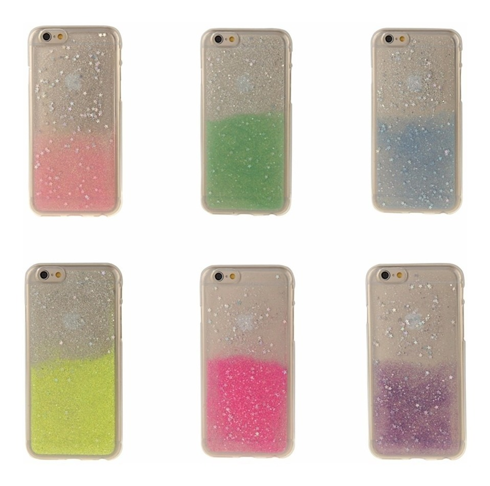 f1d388a8c13 funda iphone 6 plus 6s plus protector silicona soft glitter. Cargando zoom.