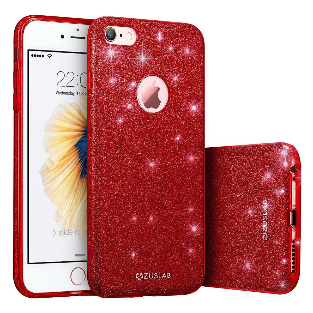 f61f2c3d7ad Funda iPhone 6 Plus / 6s Plus, Serie Zuslab Rosy, Bling Luxu - $ 869 ...
