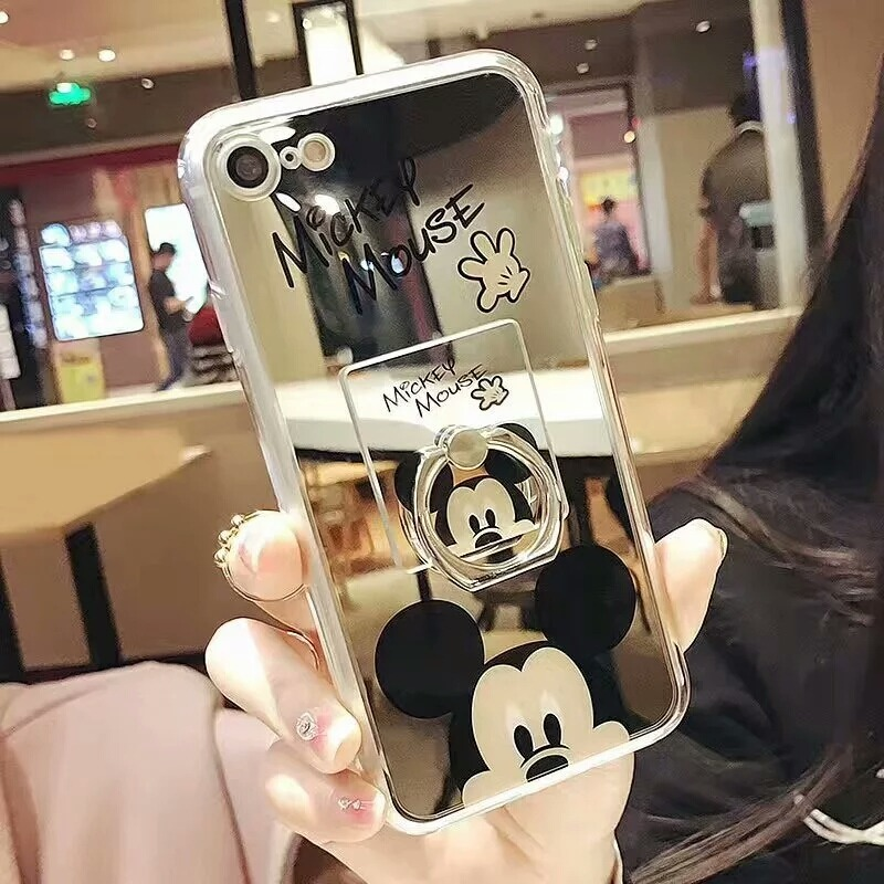 9d8ceb44baf funda iphone 6 plus espejo + anillo mickey mouse disney. Cargando zoom.